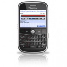 Philips SpeechExec digital recorder for BlackBerry