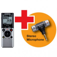 Olympus VN-712PC diktafon med ME-51S Stereo Mikrofon