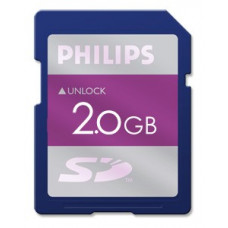 Philips LFH9002 SD card 2 GB Secure Digitale
