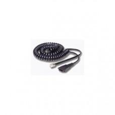 Jabra spiral ledning med modular til bla Snom telefoner