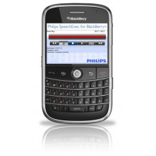 Philips SpeechExec dictation recorder til Blackberry designet til email og FTP
