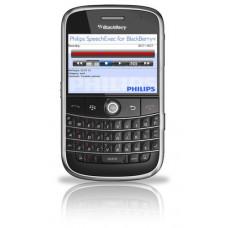 Philips SpeechExec dictation recorder til Blackberry designet til email og FTP