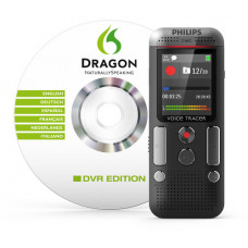 Philips DVT2700 diktafon med Dragon Speech Recognition