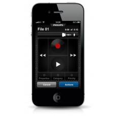 Philips SpeechExec dictation recorder til iPhone designet til email og FTP