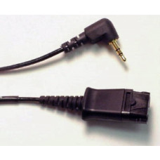 Plantronics QD til 2,5 mm jack kabel