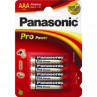 Panasonic Pro Power AAA alkaline batterier LR03