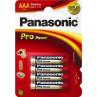 Panasonic Pro Power AAA alkaline batterier LR03