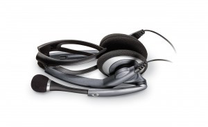 Plantronics Audio 400 DSP PC headset - foldbart