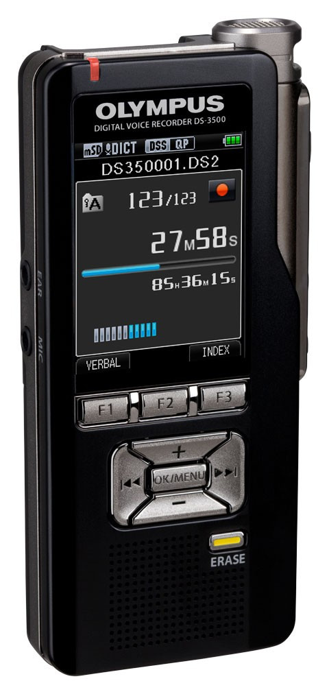 Olympus DS-3500 Diktermaskine