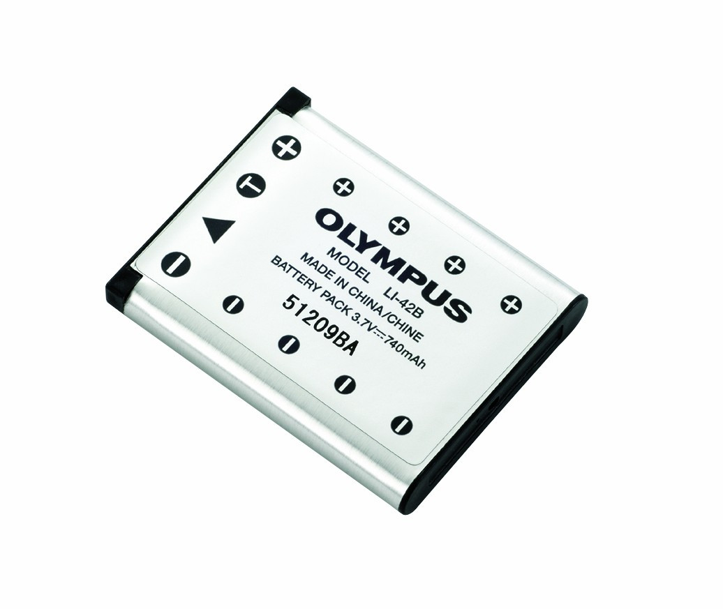 Olympus LI-42B Lithium Ion genopladeligt batteri (740 mAh) til DS-7000, DS-3500