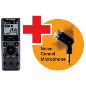 Olympus VN-711PC diktafon + ME-52 Noise cancel microphone