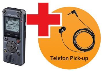 Olympus WS-812 diktafon med TP-8 Telefon Pickup