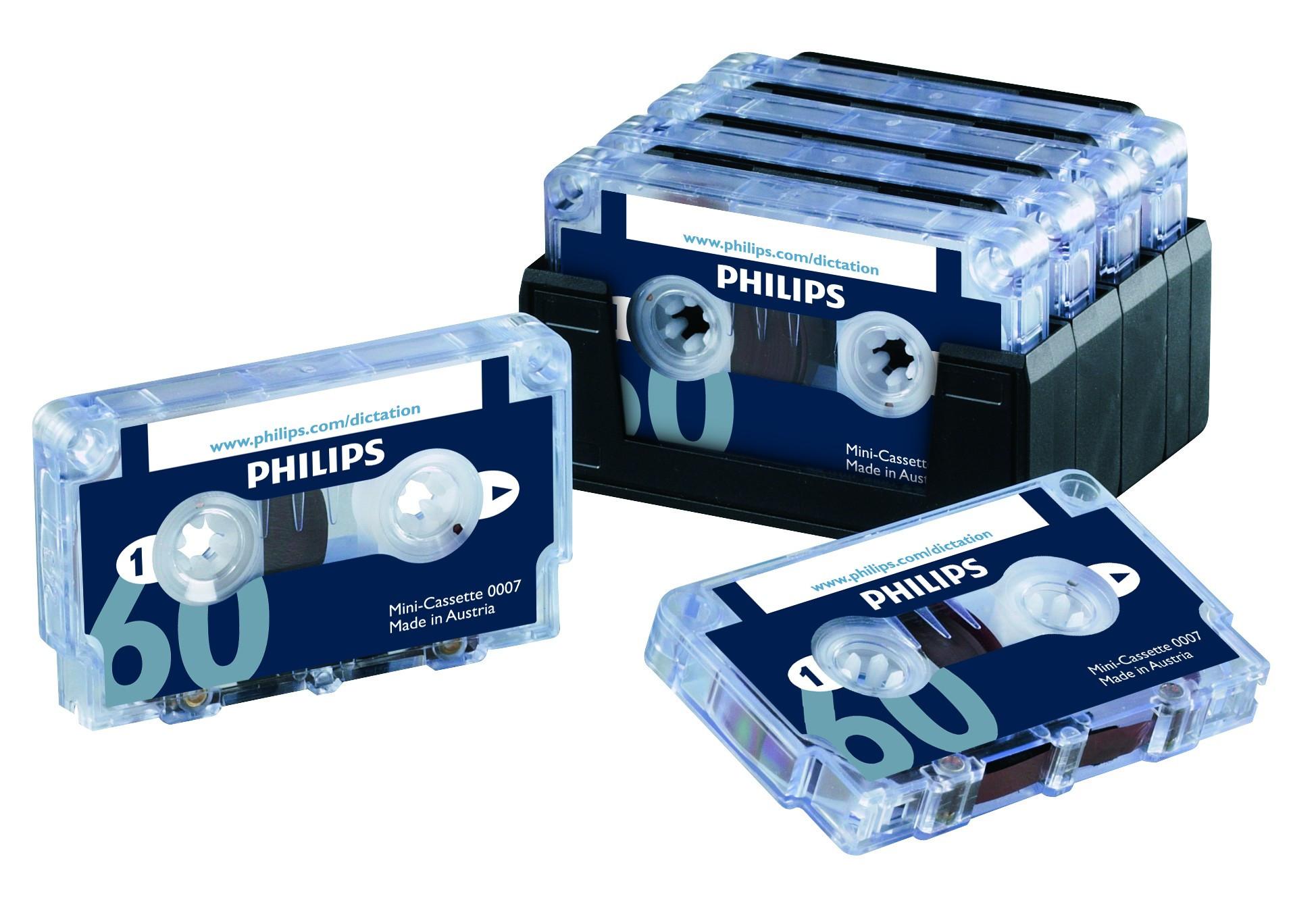 Philips LFH 007 Minikassetter