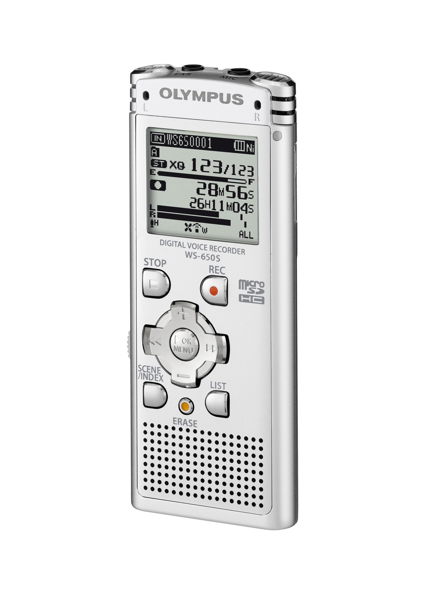 Olympus WS-650S-DNS Diktafon