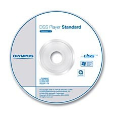 Olympus DSS Player Software Dictation Module