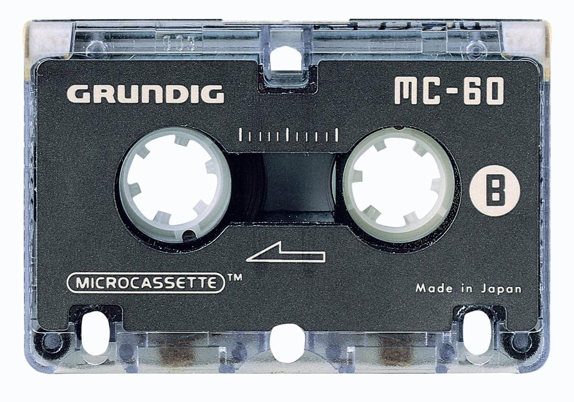 Grundig MC 60 mikrokassette