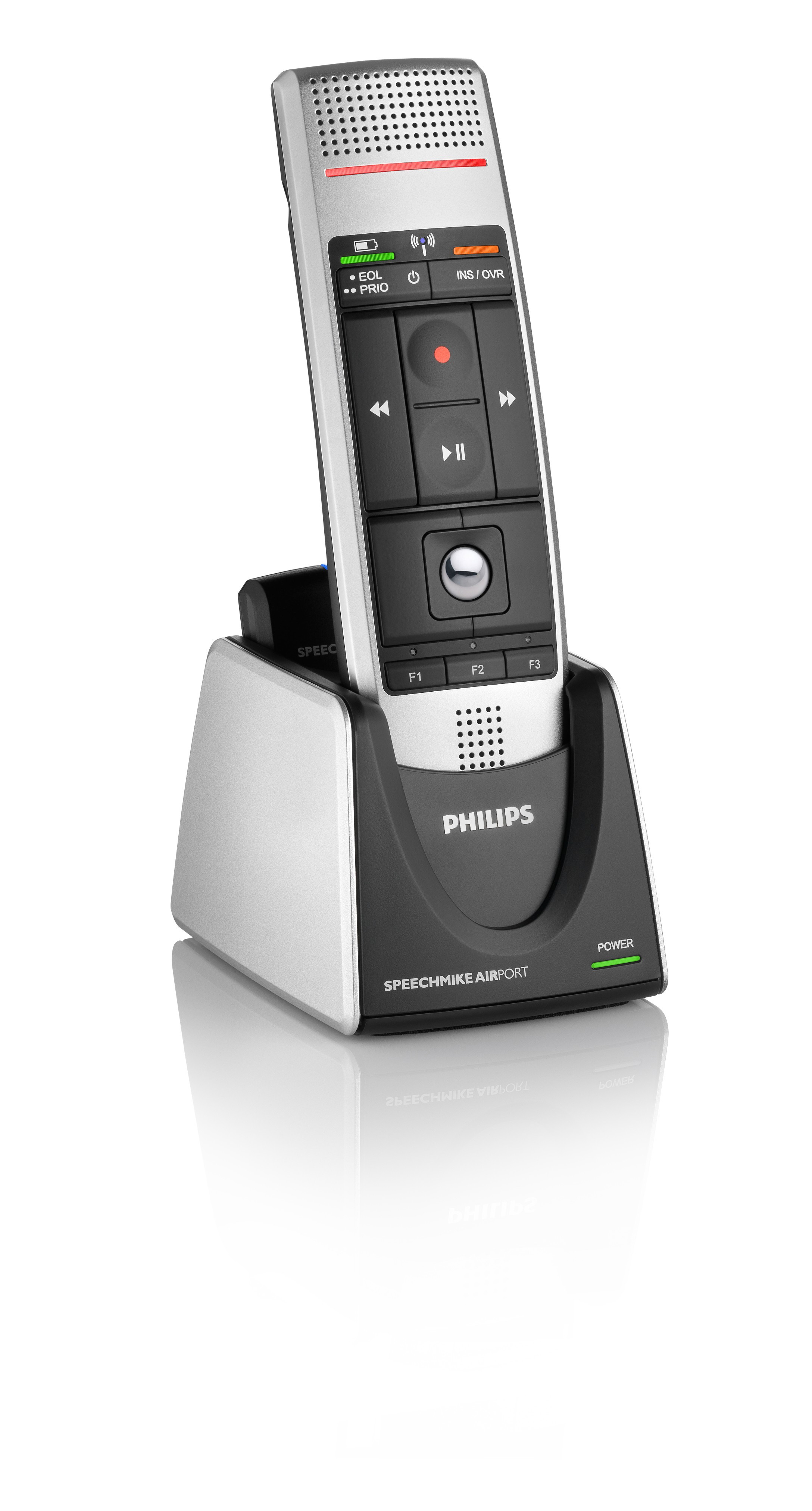 Philips LFH3000 SpeechMike Air tryk knap Integrator Version