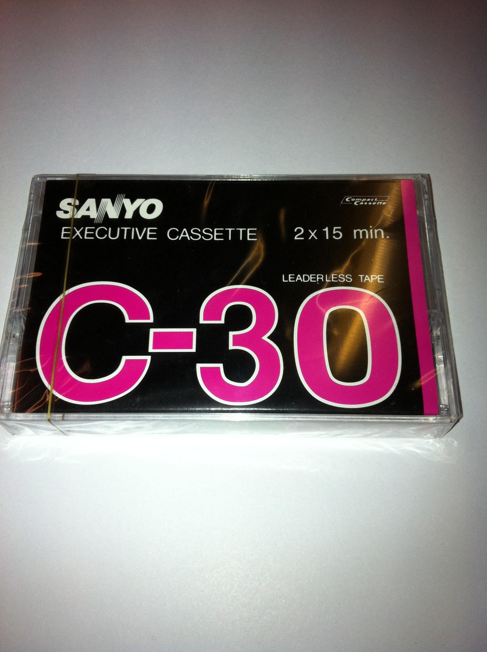 Sanyo C-30 Executive cassette 2 x 15 minutter