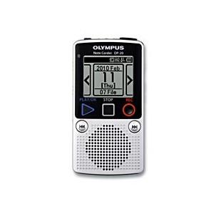Olympus DP-20 diktafon Store knapper til nem betjening
