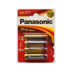 Panasonic Pro Power AA alkaline batterier LR06