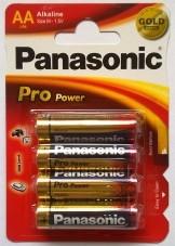 Panasonic Pro Power AA alkaline batterier LR06