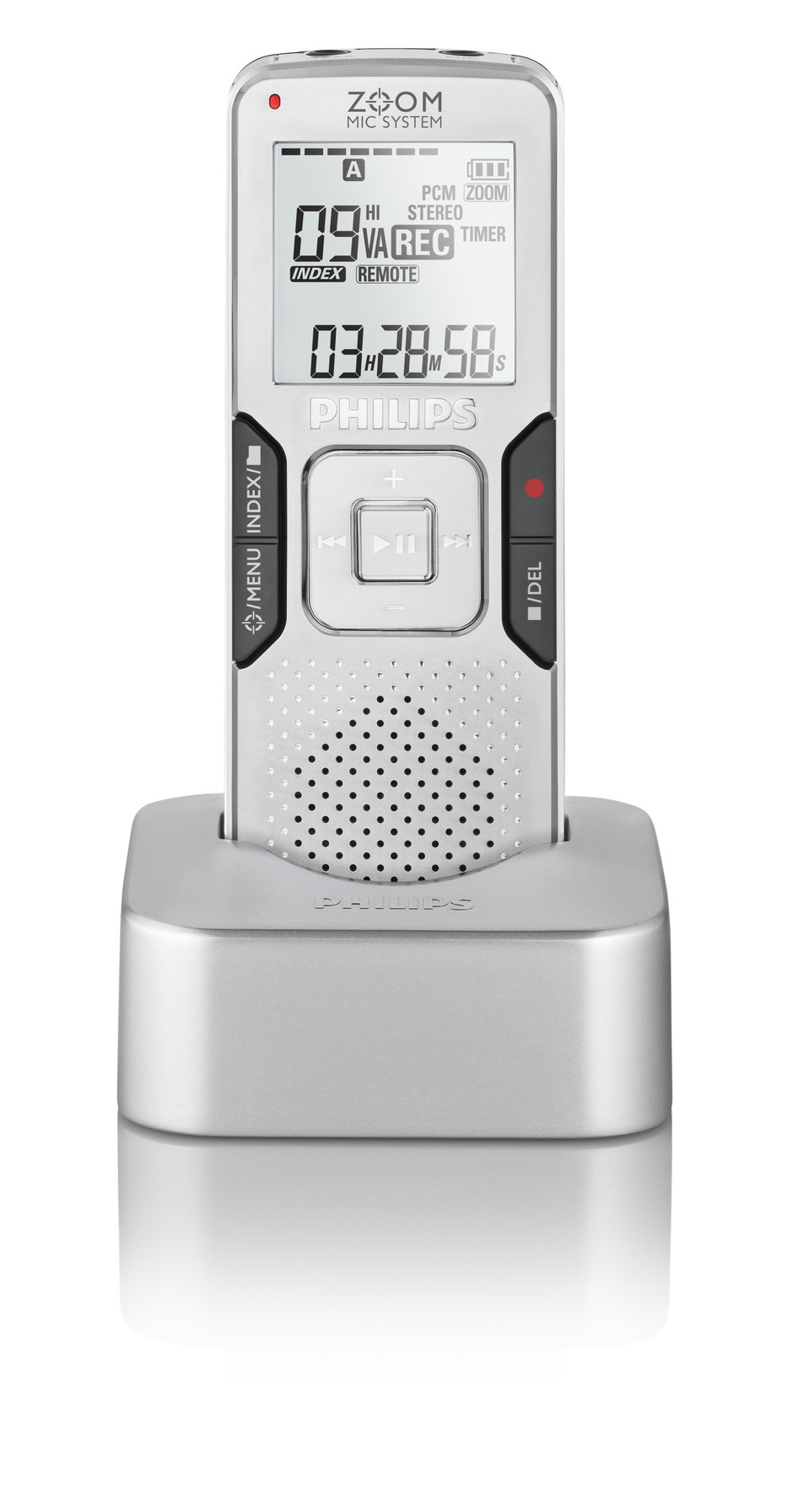 Philips LFH0888 Voice Tracer digital diktafon med dockingstation