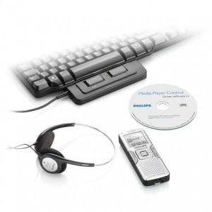 Philips LFH0867 Voice Tracer digital diktafon Forfattersæt