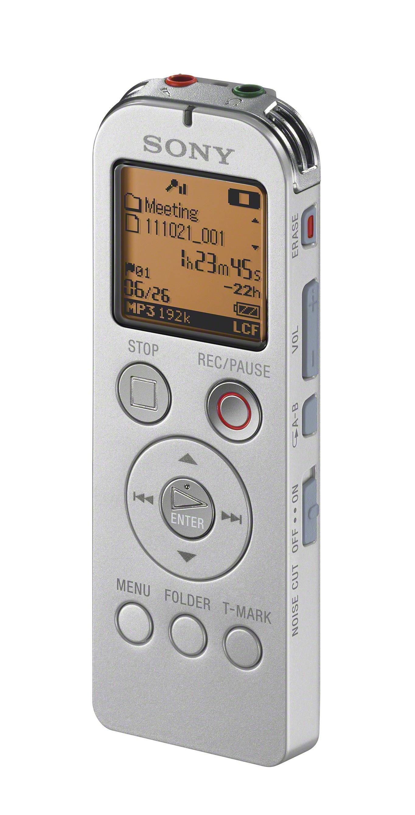 Sony ICD-UX523FW diktafon hvid