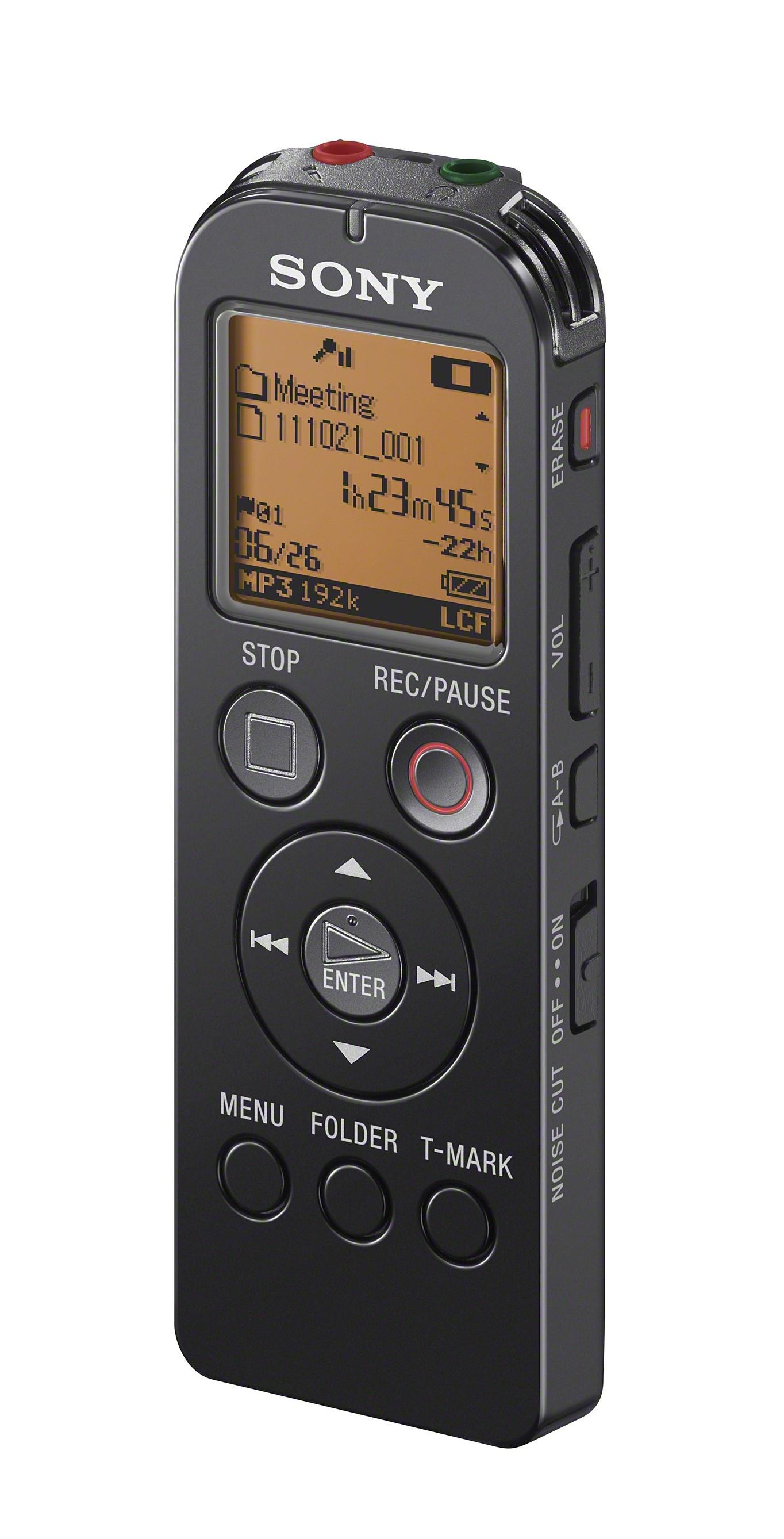 Sony ICD-UX523FW diktafon Sort