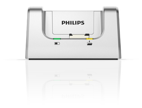 Philips DPM-8200 Digital Diktermaskine docking station