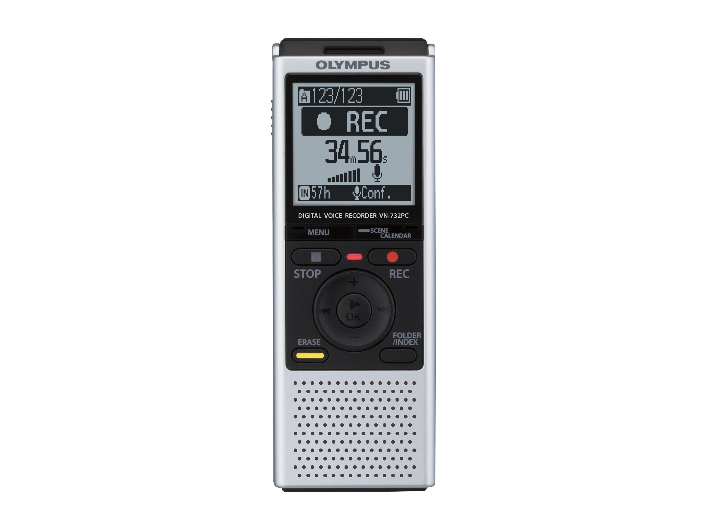 Olympus VN-732PC diktafon med stereo mikrofon