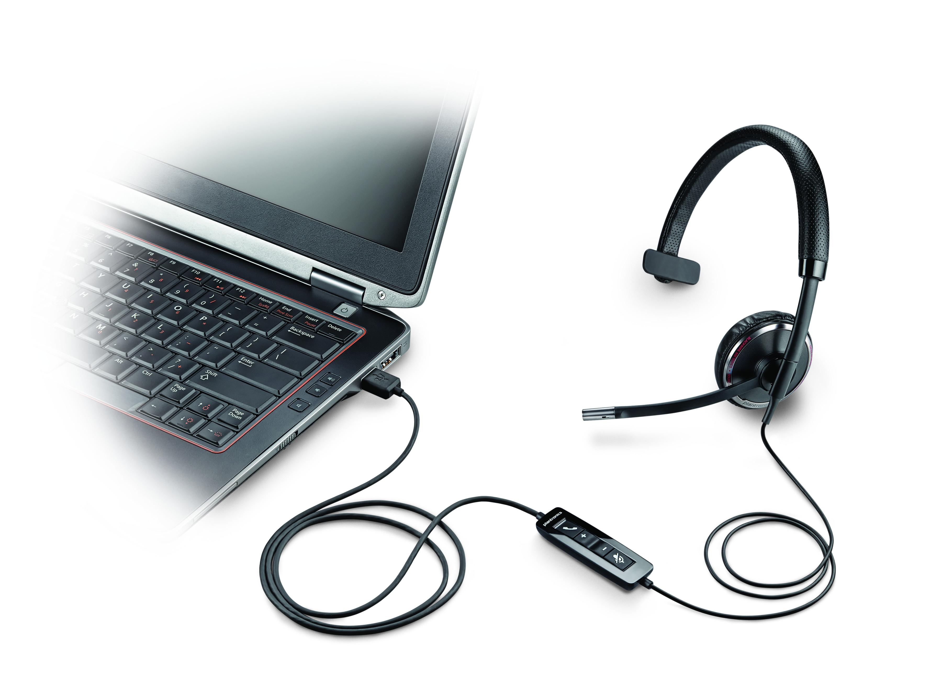 Plantronics Blackwire C510-M til MS Lync