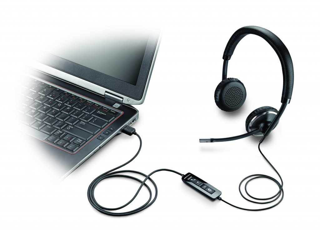 Plantronics headset til PC