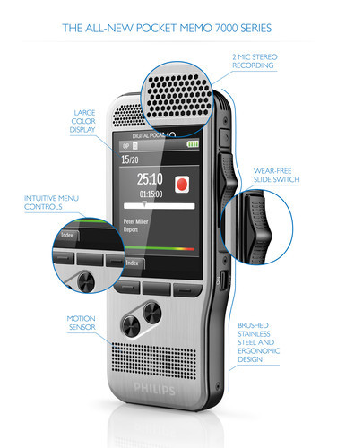 Philips DPM 7200 Digital diktermaskine