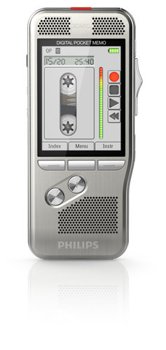Philips DPM-8000 Digital Diktermaskine diktering