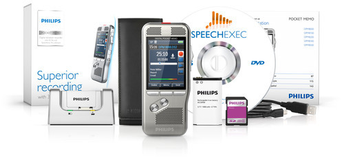 Philips DPM-8000 Digital Diktermaskine med SpeechExec Pro Dictate