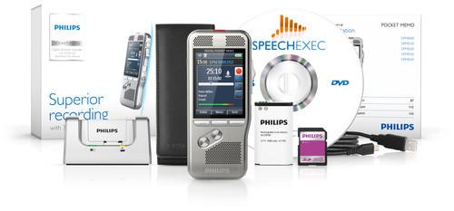 Philips DPM-8000 Digital Diktermaskine med SpeechExec Pro Dictate