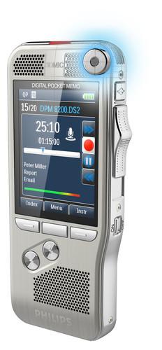 Philips DPM-8200 Digital Diktermaskine mikrofon