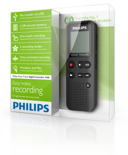Philips DVT-1100 diktafon