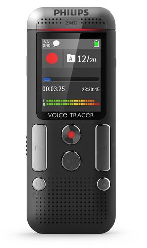 Philips DVT2500 diktafon til noter front