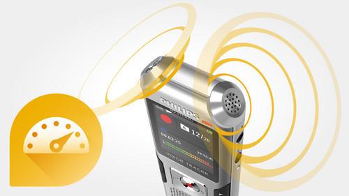Philips DVT4000 diktafon AutoAdjust+