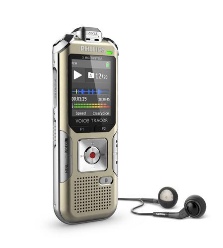 Philips DVT6500 diktafon høretelefoner