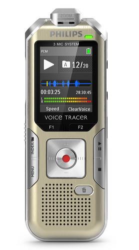 Philips DVT6500 diktafon front
