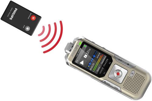 Philips DVT6500 diktafon fjernbetjening remote control