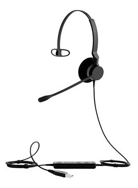 Jabra BIZ 2300 USB UC Mono PC headset