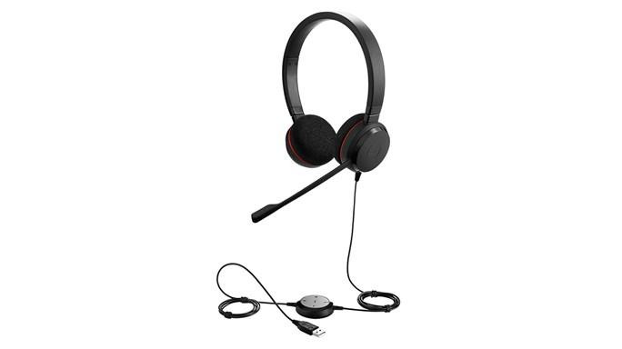 Jabra Evolve 20 MS Stereo USB headset