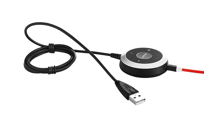 Jabra Evolve 40 UC Stereo bordkontrol
