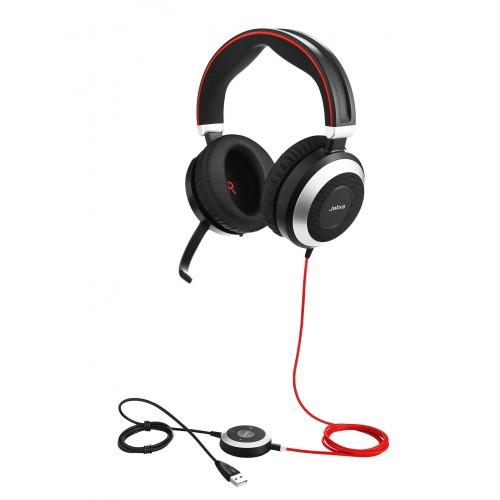 Jabra Evolve 80 UC Stereo kontrol