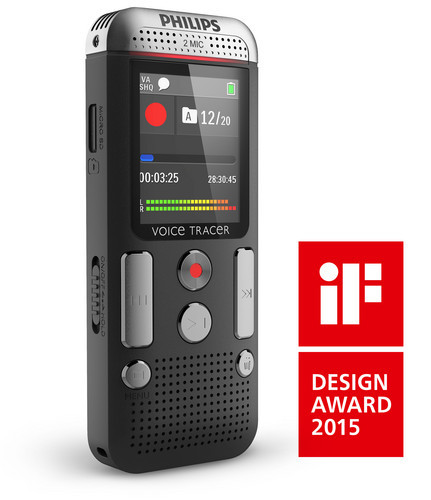 Philips DVT2500 Voice Tracer iF Design award