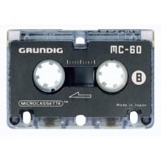 Microcassette diktering